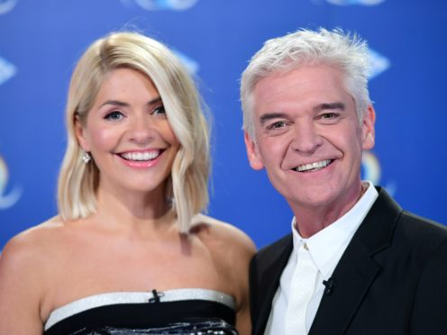 Holly Willoughby and Phillip Schofield present Dancing On Ice (Ian West/PA)