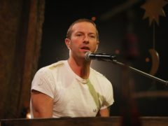 Coldplay lead singer Chris Martin (Isabel Infantes/PA)