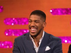 Anthony Joshua joined in Saturday Night Takeaway (David Parry/PA)