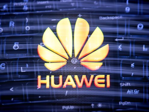 Boris Johnson is coming under renewed pressure over Chinese tech giant Huawei's role in the UK's 5G network (Dominic Lipinski/PA)