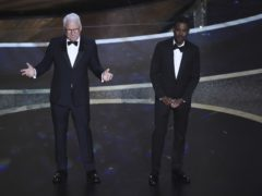 Chris Rock and Steve Martin raised the curtain on this year's Oscars (Chris Pizzello/AP)