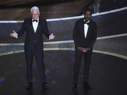 Chris Rock and Steve Martin raised the curtain on this year's Oscars (Chris Pizzello/AP)