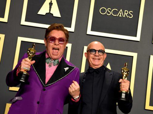 Sir Elton John and Bernie Taupin (Jennifer Graylock/PA)