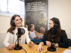 Giovanna Fletcher on Kate podcast appearance: I was just talking to another mum (Kensington Palace/PA)