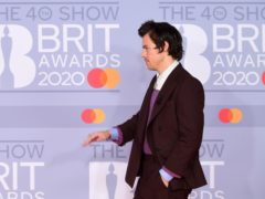 Harry Styles arriving at the Brit Awards (Ian West/PA)