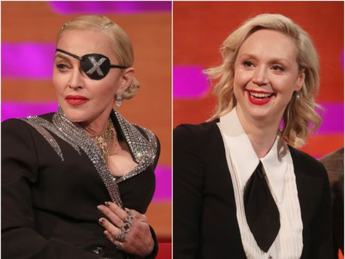 Gwendoline Christie delighted as Madonna joins her for racy chat at live show (PA Wire/PA)