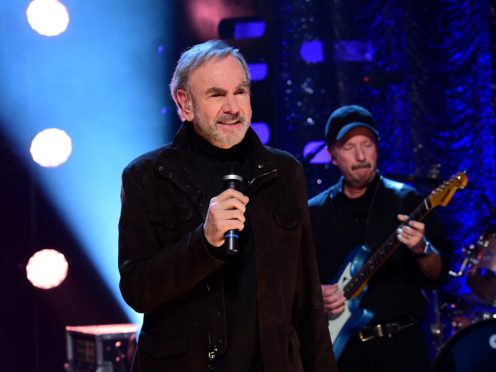 Neil Diamond has produced an edited version of his hit Sweet Caroline (Ian West/PA)
