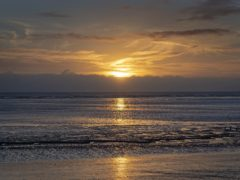 The world's oceans have warmed by an average of 1C since pre-industrial times, the researchers said (Victoria Jones/PA)