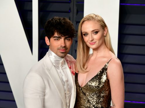 Joe Jonas and Sophie Turner (Ian West/PA)