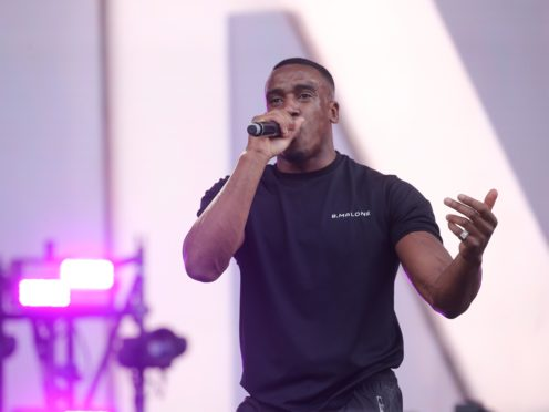 Bugzy Malone's injuries are not thought to be life-threatening (Isabel Infantes/PA)