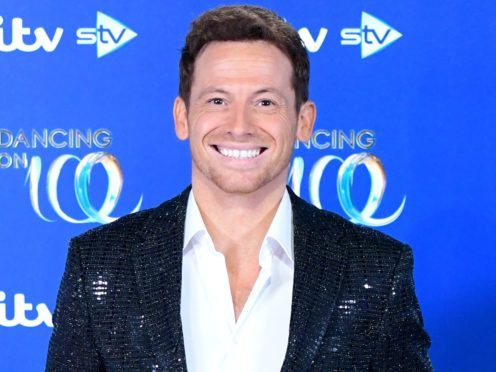 Joe Swash has been wearing a huge head bandage after injuring his ear (Ian West/PA)