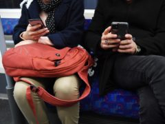 Permanent phone reception has been made available on underground sections of London's Tube network for the first time (Kirsty O'Connor/PA)