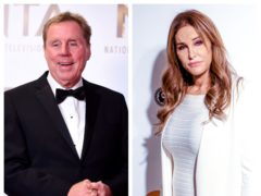 Harry Redknapp and Caitlyn Jenner both accepted fees to promote the charity (PA)