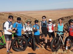 Judge Rinder joined a host of stars for the gruelling 100-mile expedition in Namibia (BBC/Sport Relief)