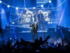 Adam Lambert with Queen (David Jensen/PA)