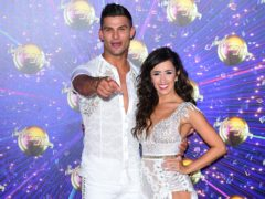 Aljaz Skorjanec and Janette Manrara will kick things off (Ian West/PA)