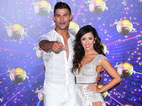 Aljaz Skorjanec and Janette Manrara will kick things off (Ian West/PA)