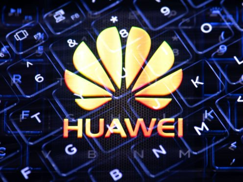 Huawei has defended its role in the development of 5G in the UK (Dominic Lipinski/PA)