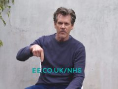 Kevin Bacon appears in an EE advert announcing unlimited data for NHS staff for six months (EE)