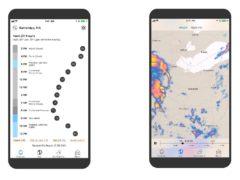 The Dark Sky app (Dark Sky/PA)