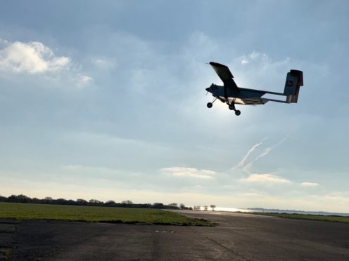 A Windracers Ultra UAV drone is to be used to take essential medical supplies to the Isle of Wight (Windracers/PA)