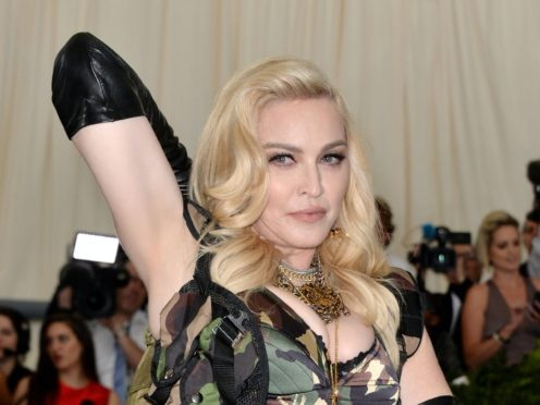 Madonna's tweet about George Floyd's death has caused controversy (Aurore Marechal/PA)