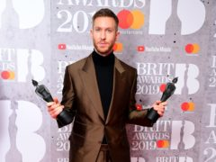 Calvin Harris said doctors had to 'restart' his heart in 2014 (Ian West/PA)