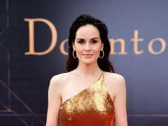 Downton Abbey star Michelle Dockery has revealed she used to perform alongside a grunge band (Ian West/PA)