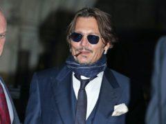 Johnny Depp (Yui Mok/PA)