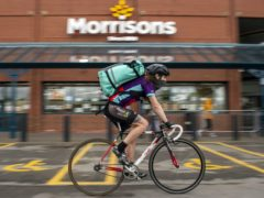 Deliveroo is raising funds for the NHS (Anthony Devlin/PA)