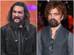 Game Of Thrones co-stars Jason Momoa and Peter Dinklage are reuniting for a vampire film (Matt Crossick/PA)