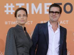 Angelina Jolie and Brad Pitt (Stefan Rousseau/PA)
