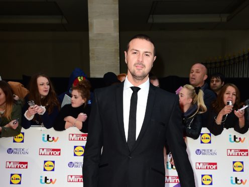 Paddy McGuinness was involved in the incident while filming Top Gear (Ian West/PA)
