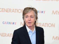 Sir Paul McCartney is celebrating his 78th birthday (Ian West/PA)