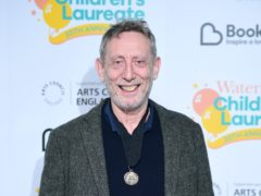 Michael Rosen was admitted to hospital in March (Ian West/PA)