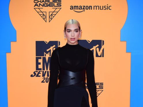 Pop star Dua Lipa says she wants to emulate Madonna and peak in her 40s (Ian West/PA)