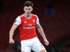 Arsenal's Kieran Tierney (Adam Davy/PA)