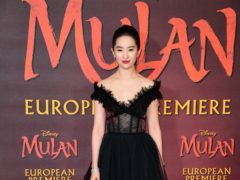 Lui Yifei stars in Mulan, which has once again been delayed (Ian West/PA)