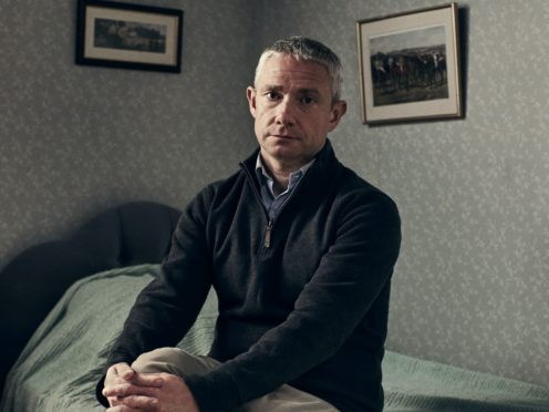 Martin Freeman is one of the stars of Talking Heads (Zac Nicholson/BBC/PA)