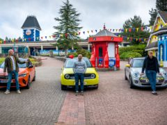 Top Gear filming resumed at Alton Towers (BBC/PA)