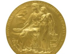 The Nobel Prize Medal going under the hammer (Christie's)