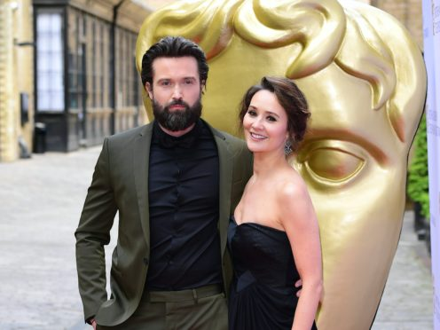 Emmett J Scanlan and Claire Cooper (Ian West/PA)