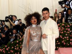 Priyanka Chopra and Nick Jonas (Jennifer Graylock/PA)