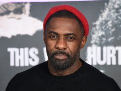 Idris Elba will receive his award at the end of the month (Matt Crossick/PA)