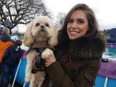 Singer Pippa Langhorne and her dog Buddy (Pippa Langhorne)