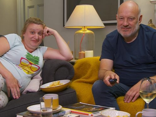 Daisy May Cooper and her father Paul (Studio Lambert/Channel 4/PA)