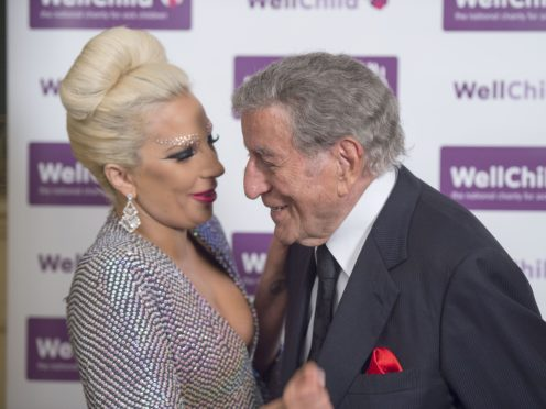Lady Gaga was among the stars wishing crooner Tony Bennett a happy 94th birthday (Alan Davidson/Daily Mail/PA)