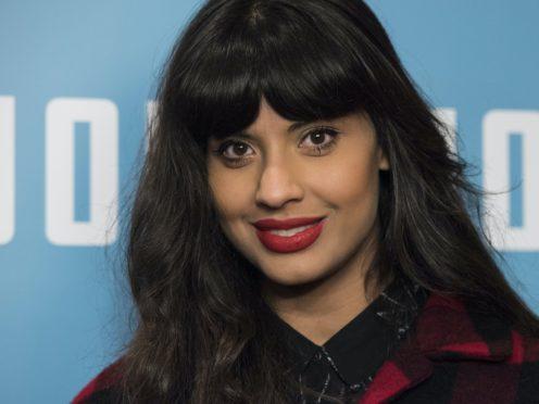 Jameela Jamil gave the Alternative MacTaggart lecture at the Edinburgh TV Festival (PA)