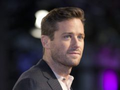 Armie Hammer stars in Death On The Nile (Isabel Infantes/PA)