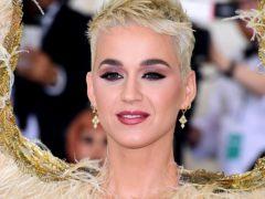 Katy Perry (Ian West/PA)